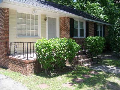 Columbia Single Family Home For Sale: 3817 Live Oak