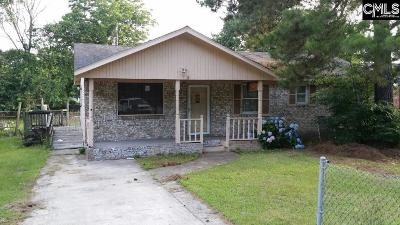 Columbia SC Single Family Home For Sale: $36,000