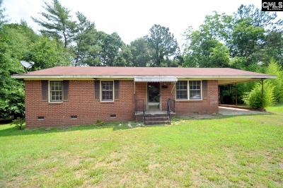 Newberry Single Family Home For Sale: 2117 Bouknight