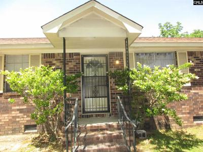 Cayce Single Family Home For Sale: 1412 Lafayette