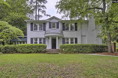 Columbia SC Single Family Home For Sale: $715,000