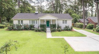 Columbia Single Family Home For Sale: 4912 Clemson