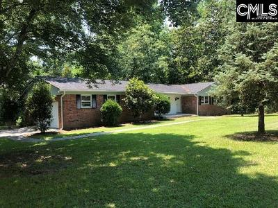 Forest Acres Single Family Home For Sale: 4628 Crystal