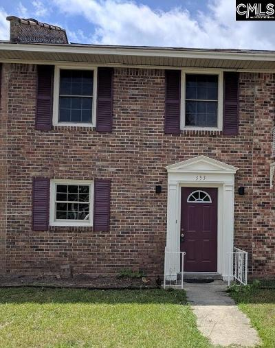 Lexington County, Richland County Townhouse For Sale: 353 Oak