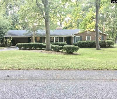 Forest Acres Single Family Home For Sale: 6721 Westbrook