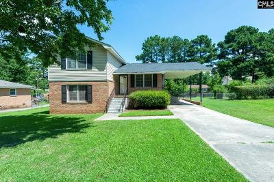 Columbia SC Single Family Home For Sale: $74,000