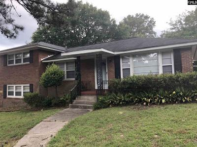 Columbia Single Family Home For Sale: 1529 Bradley