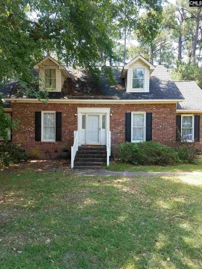 Columbia SC Single Family Home For Sale: $120,000