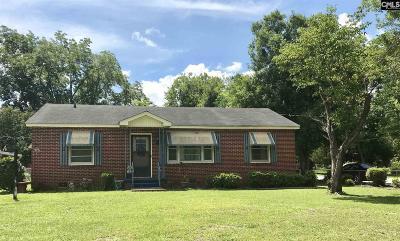 Orangeburg SC Single Family Home For Sale: $99,900
