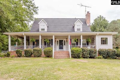 Kershaw County Single Family Home For Sale: 186 Hermitage Farm