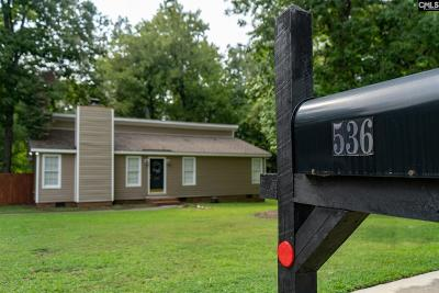 Irmo Single Family Home For Sale: 536 Chadford