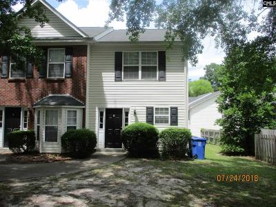 Columbia SC Townhouse For Sale: $99,500