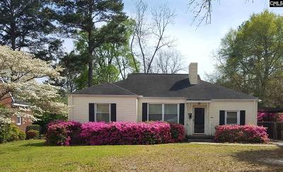 Columbia Single Family Home For Sale: 3706 Moss