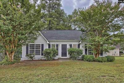 Irmo Single Family Home For Sale: 2 Twill