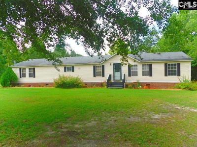 Batesburg SC Single Family Home For Sale: $124,500