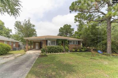 West Columbia Single Family Home For Sale: 1636 B