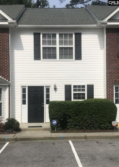 Columbia SC Townhouse For Sale: $124,000