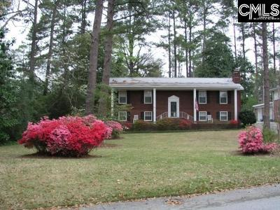 Forest Acres Single Family Home For Sale: 3225 Whitehall