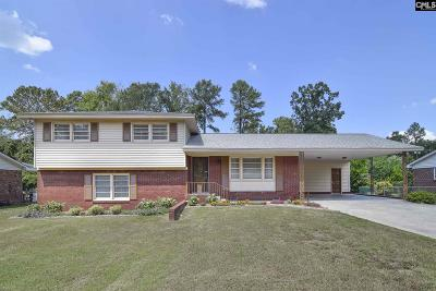 West Columbia Single Family Home For Sale: 2708 Morningdale