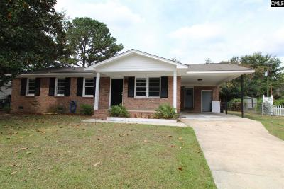 Cayce Single Family Home For Sale: 1818 Sedgefield