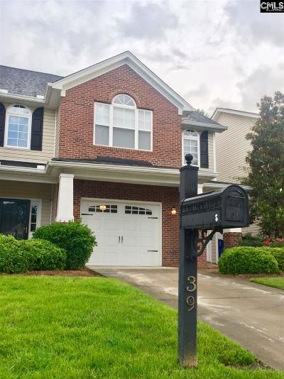 Lexington County, Richland County Townhouse For Sale: 39 Braiden Manor