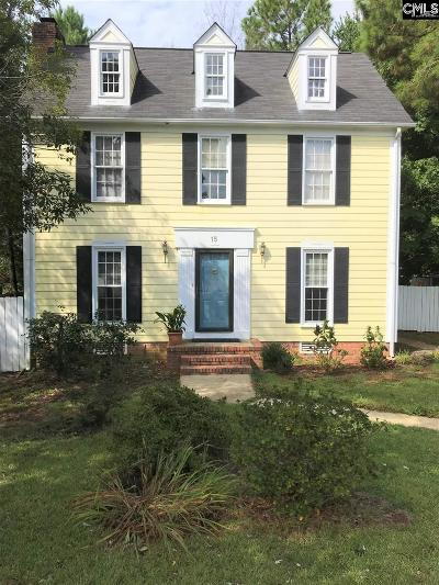Columbia Single Family Home For Sale: 15 Old Pond