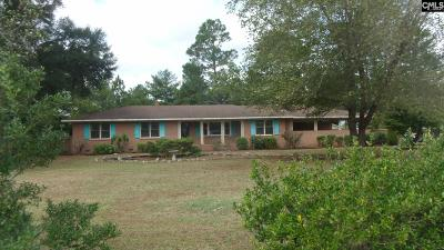 Bishopville Single Family Home For Sale: 2480 Sumter Hwy