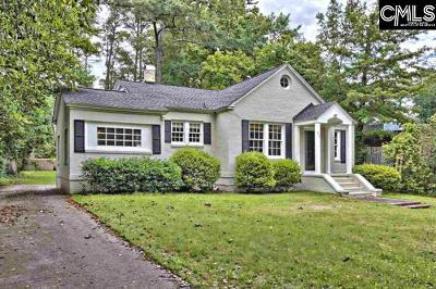 Columbia Single Family Home For Sale: 4033 Trenholm
