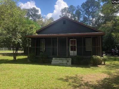 Camden SC Single Family Home For Sale: $59,000