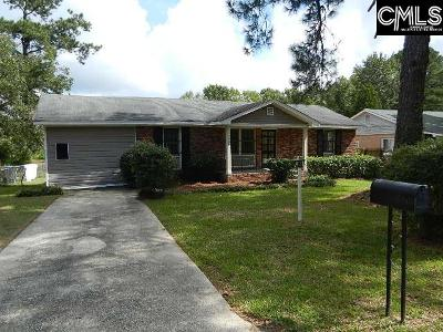 Columbia SC Single Family Home For Sale: $56,900