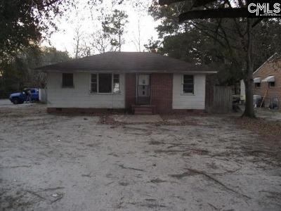 Sumter Single Family Home For Sale: 102 Carolina
