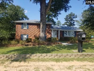 Cayce Single Family Home For Sale: 110 Sandy