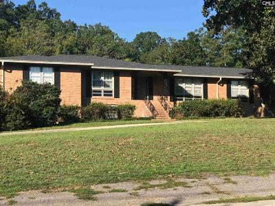 West Columbia Single Family Home For Sale: 1631 Fairlane