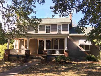 Newberry Single Family Home For Sale: 4606 Mount Pleasant