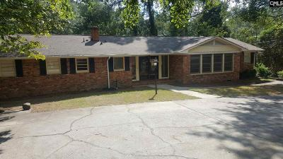 Forest Acres Single Family Home For Sale: 3168 Travis