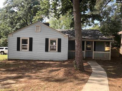 Richland County Single Family Home For Sale: 4401 Palmetto