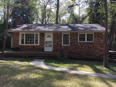 Columbia SC Single Family Home For Sale: $50,000