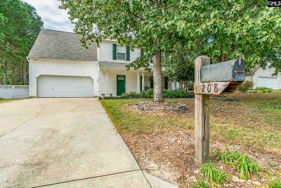 Lexington County Single Family Home For Sale: 208 Hurstwood