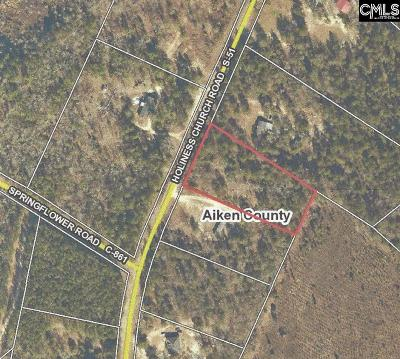 Wagener Residential Lots & Land For Sale: Holiness Church