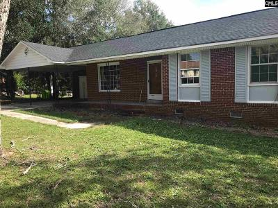 Columbia SC Single Family Home For Sale: $99,500