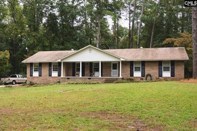 Lexington County Single Family Home For Sale: 2168 Fish Hatchery