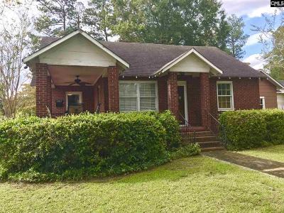 Orangeburg Single Family Home For Sale: 1005 Columbia