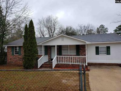 Columbia SC Single Family Home For Sale: $70,000