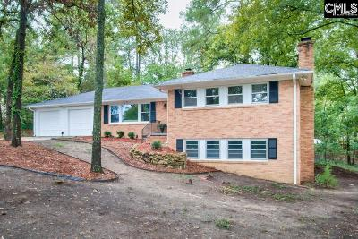 Blythewood, Ridgeway, Winnsboro, Columbia, Elgin, Ballentine, Eastover, Forest Acres, Gadsden, Hopkins Single Family Home For Sale: 19 Lakecrest