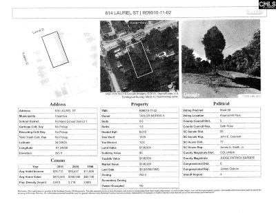 Blythewood, Ridgeway, Winnsboro, Ballentine, Columbia, Eastover, Elgin, Forest Acres, Gadsden, Hopkins Residential Lots & Land For Sale: 614 Laurel
