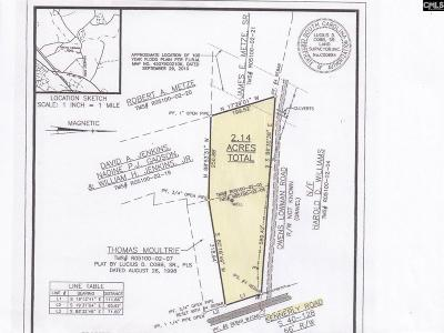 Irmo Residential Lots & Land For Sale: Kennerly & Owens Lowman Road