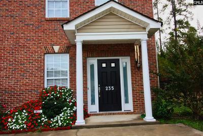 Lexington County, Richland County Townhouse For Sale: 235 Orange Pond