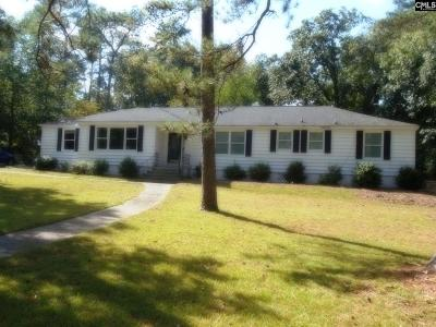 Forest Acres Single Family Home For Sale: 525 N Trenholm