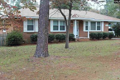 West Columbia Single Family Home For Sale: 2808 Wilton