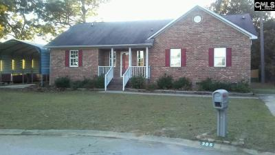 West Columbia Single Family Home For Sale: 305 Yardley Farms